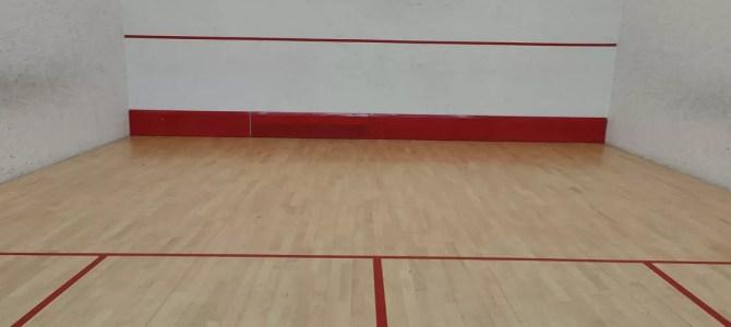 Partidos de Squash y Frontenis