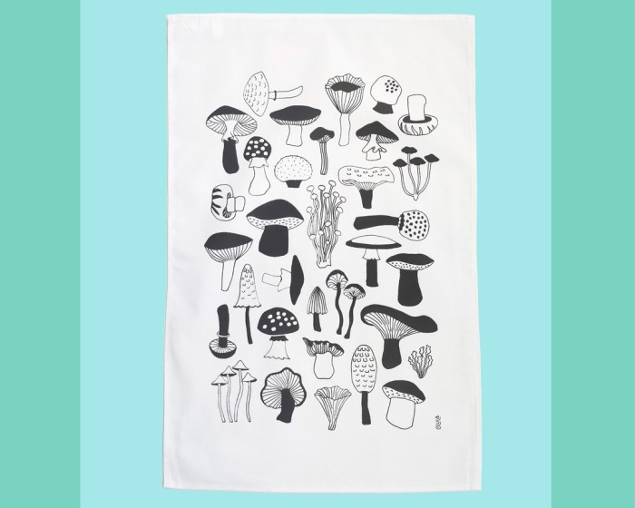 tea towel for nature lovers