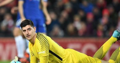 Thibaut Courtois drops hint about his Chelsea future as contract talks continue to stall