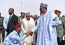 The Way Governor El Rufai Greets Buhari And Atiku Got People Talking (pics)