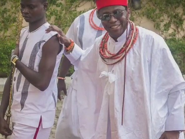 Royal Visit:See How Oba Of Benin Storms Abuja In Grand Style With His Rolls Royce & Private Jet (pics)