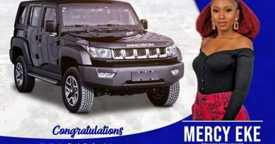 Know More About Design And Features Of The Rugged  IVM G40 SUV Presented To Mercy, Winner Of BBNaija (pics)