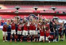 Arsenal Beats London Rival, Chelsea To Lift FA Cup (pic)