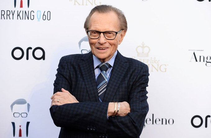 """""""Are You A Mother In Law Expert""""? CNN Piers Morgan Shades Larry King In Death. Fans React (pics)"""