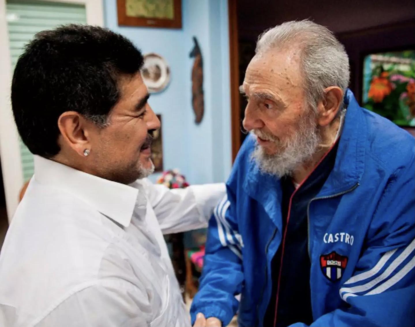 Φιντέλ Κάστρο, Ντιέγκο Μαραντόνα, ίδια μέρα θανάτου, ίδια θέση στην αιωνιότητα