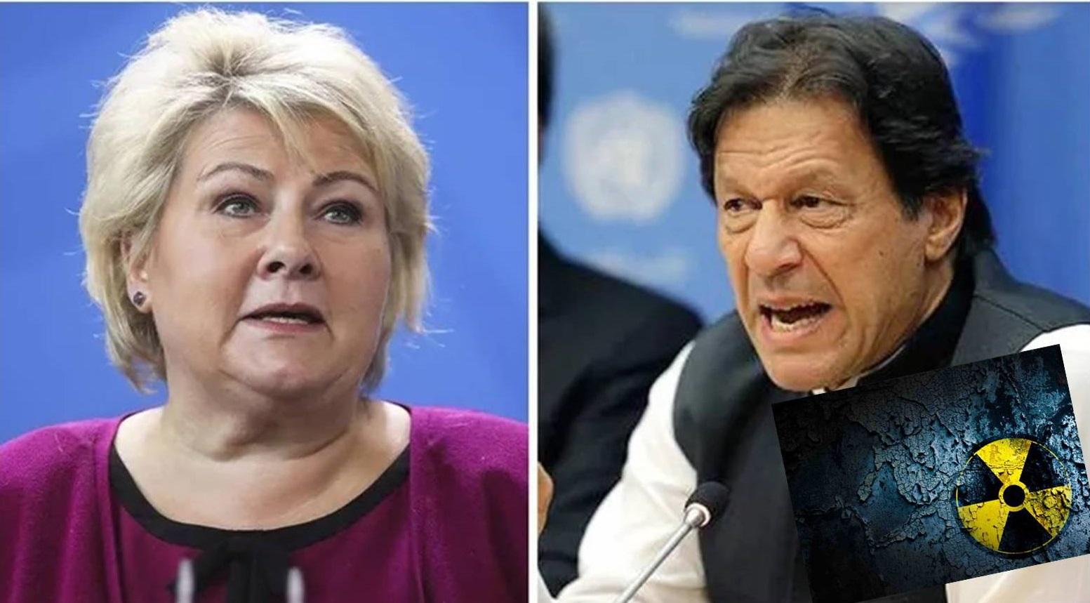 Η Νορβηγία ανησυχεί για το πυρηνικό πρόγραμμα Πακιστάν του καλύτερου συμμάχου της τουρκίας…Εμείς πάμε διερευνητικές