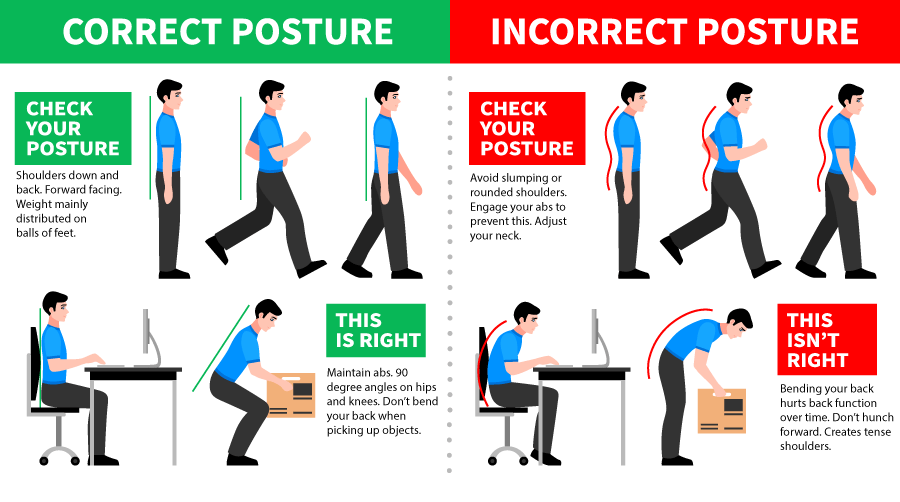 Take these Small Steps to Improve your Posture in the Office