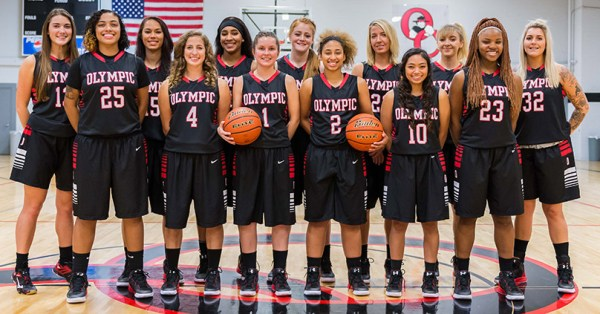 2016-2017 Women's Basketball Roster | Olympic College