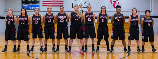 2015-2016 Women's Basketball Roster | Olympic College