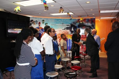 Australian High Commissioner Launches Gold Coast 2018 Commonwealth Games (GC2018) Schools Connect Programme in Barbados