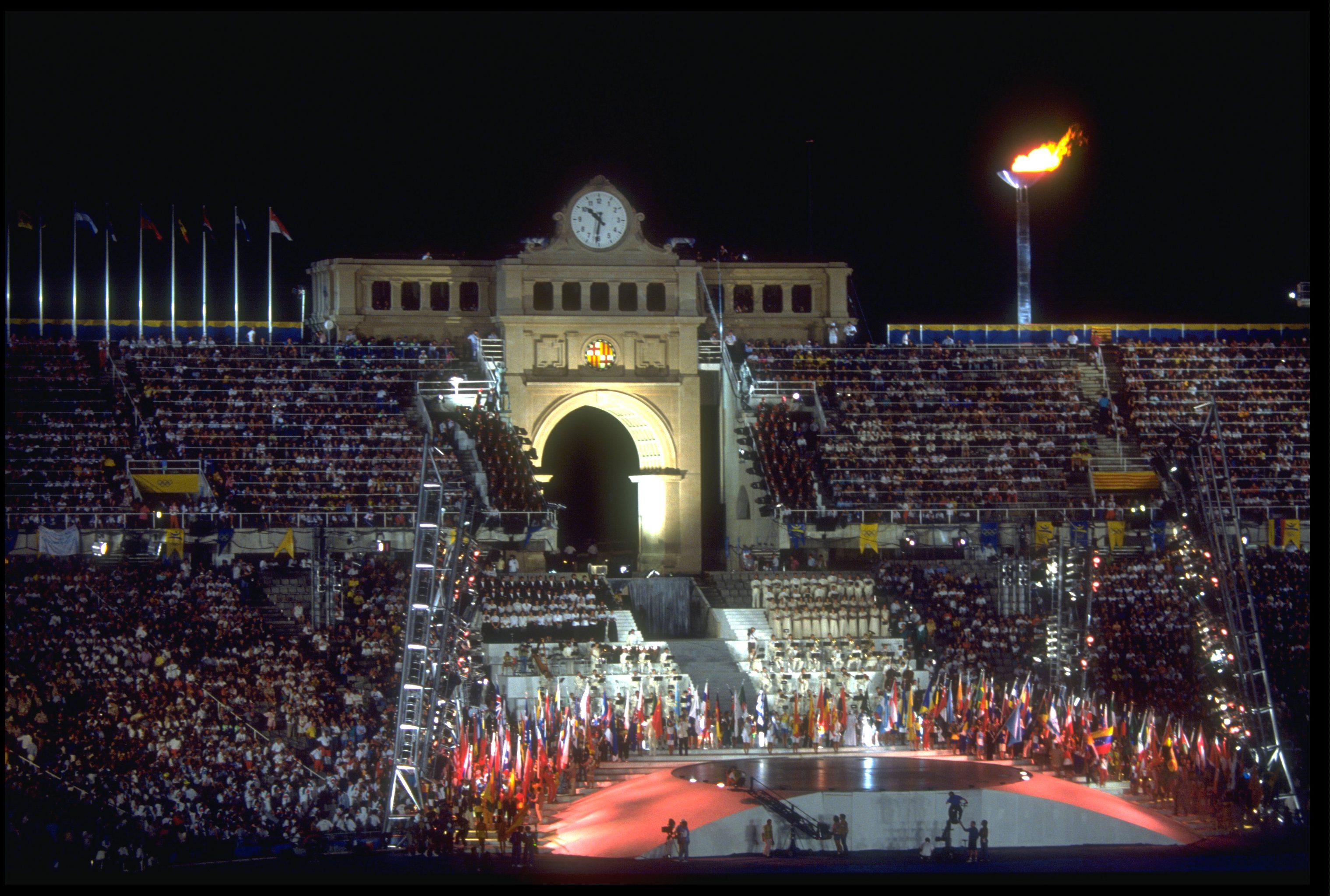 Barcelona 1992 New Zealand Olympic Team