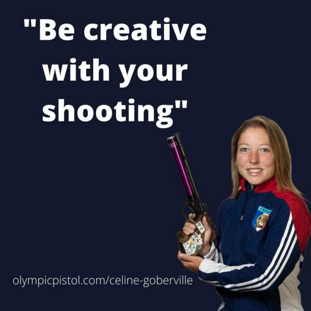 "Celine says: ""be creative with your shooting"""