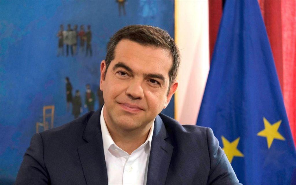 Παρουσίαση από τον Αλέξη Τσίπρα του προγράμματος του ΣΥΡΙΖΑ-Π. Σ. για τη βιώσιμη επανεκκίνηση της οικονομίας -Τρίτη 13 Απριλίου