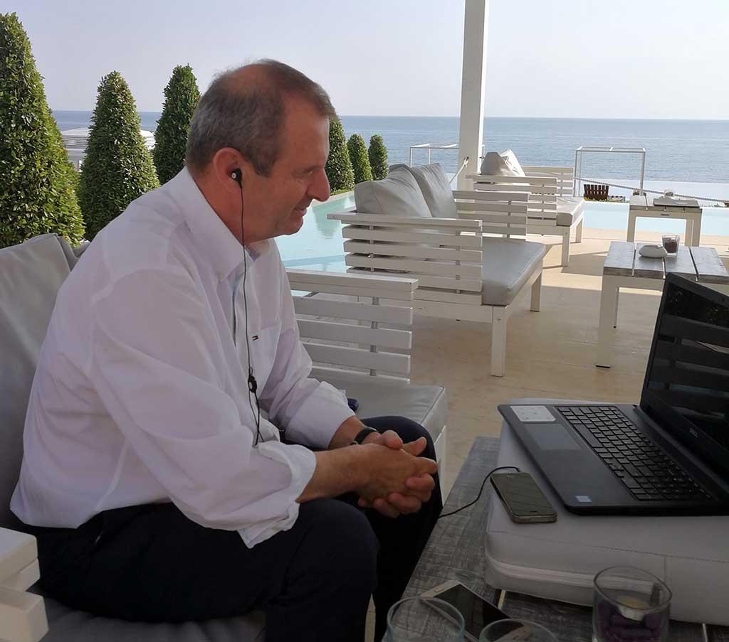 Η τουριστική προβολή της Πιερίας από τον πρόεδρο του Επιμελητηρίου Πιερίας