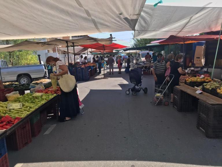 Δήμος Κατερίνης | Με τα προβλεπόμενα αυξημένα μέτρα προστασίας η λειτουργία της λαϊκής αγοράς του Σαββάτου