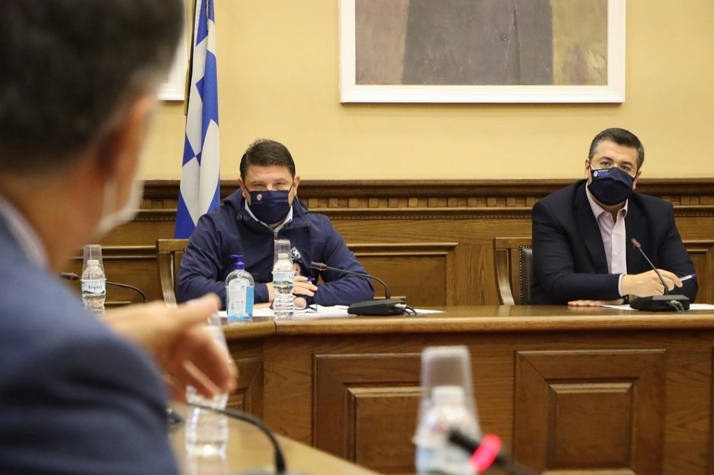 Ολοκληρώθηκε η έκτακτη σύσκεψη για την έξαρση της πανδημίας του κορονοϊού στις Σέρρες
