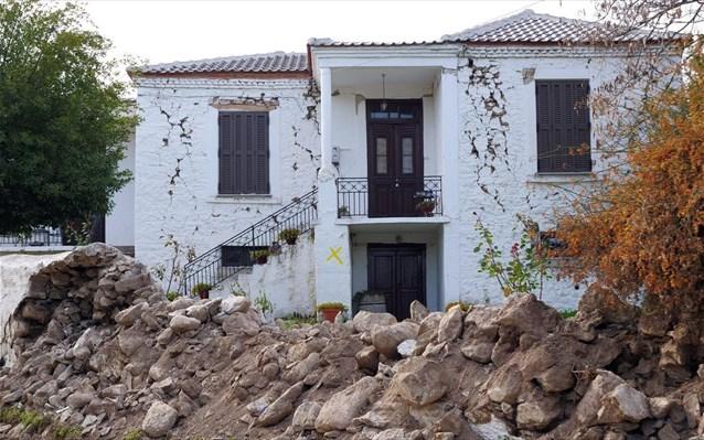 Μη κατοικήσιμα 1.424 σπίτια στη Θεσσαλία, μετά τον σεισμό
