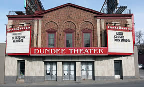 The Dundee Theater is Omaha's last single screen theater