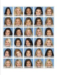 Bachelor Brackets and Face/Name Cheatsheet