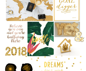 How to make a vision board that works for you: 2018 edition