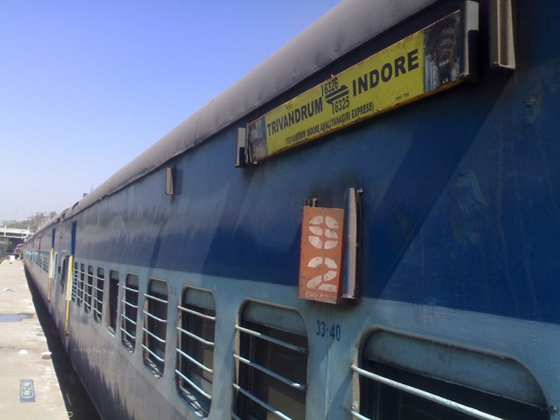 Traditionnal Indian Train