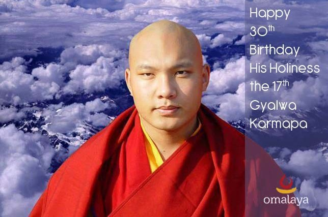 Happy Birthday To The Karmapa