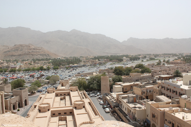 View of Nizwa from the Fort