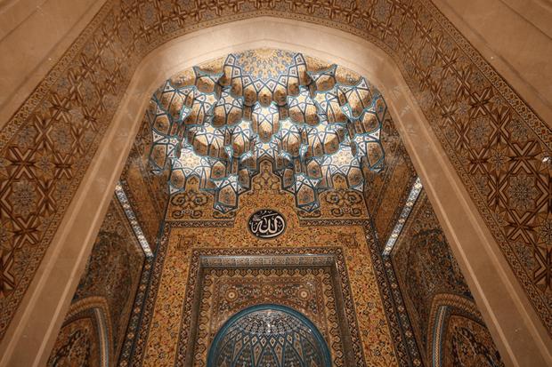 Sultan Qaboos Mosque In Sohar Omantripper