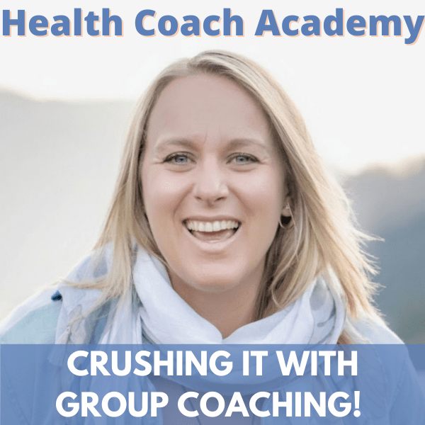Group Coaching, Kendra Perry, Health Coach Academy, Podcast