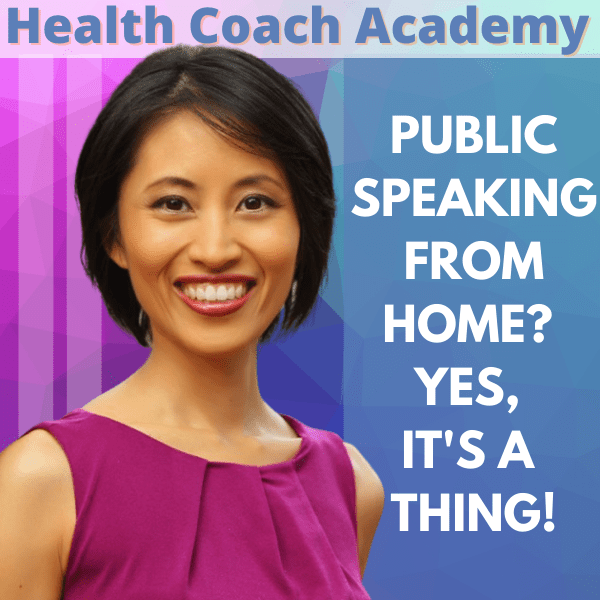 Public Speaking From Home? Yes, It's a Thing!