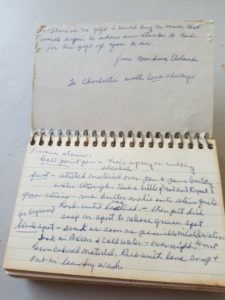Grandma's recipe cards
