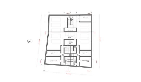 Plan R-1 (Sous-sol)