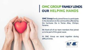 Read more about the article OMC Group Family Lends our helping hands