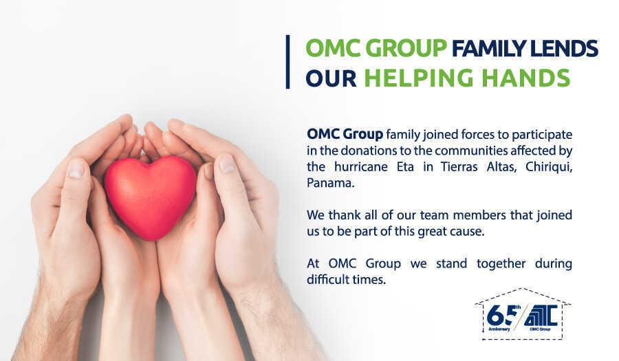 OMC Group Family Lends our helping hands