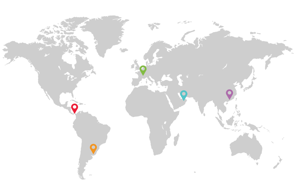 Worldwide Map Location OMC Group