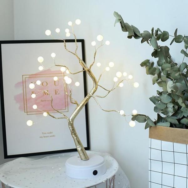 arbre lumineux d'ambiance à led pour décoration d'intérieur