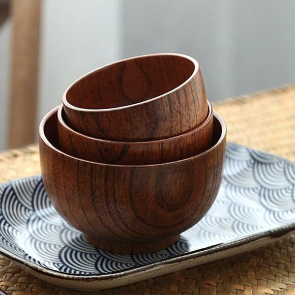 bol en bois style japonais aménagement cuisine