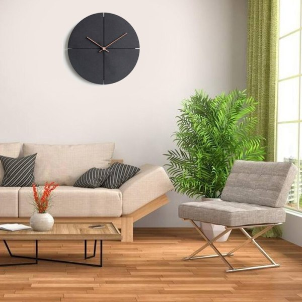 horloge murale style design scandinave