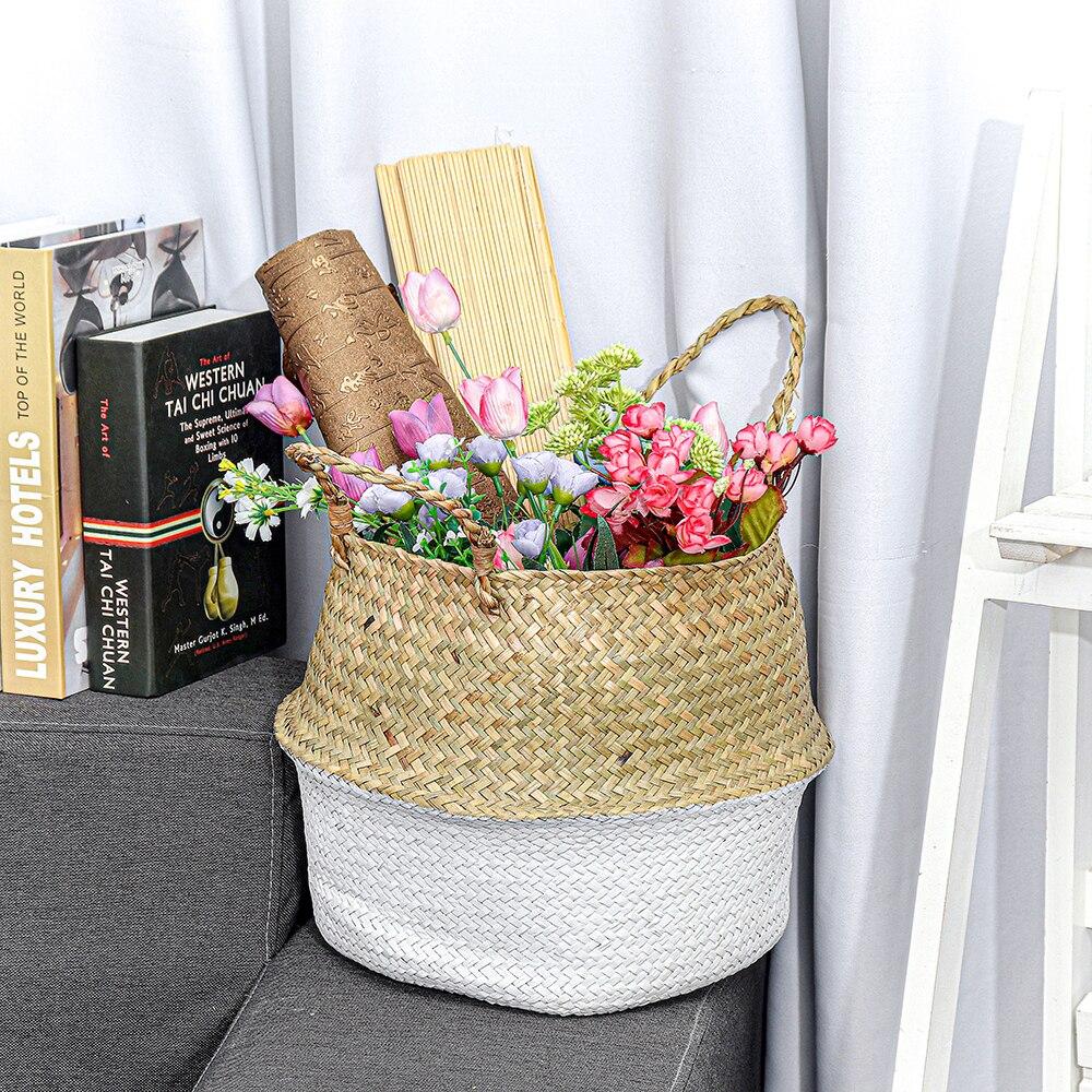 panier de rangement décoration intérieur style scandinave