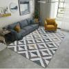 tapis abstrait géométrique pour décoration