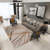 tapis géométrique abstrait pour décoration sol