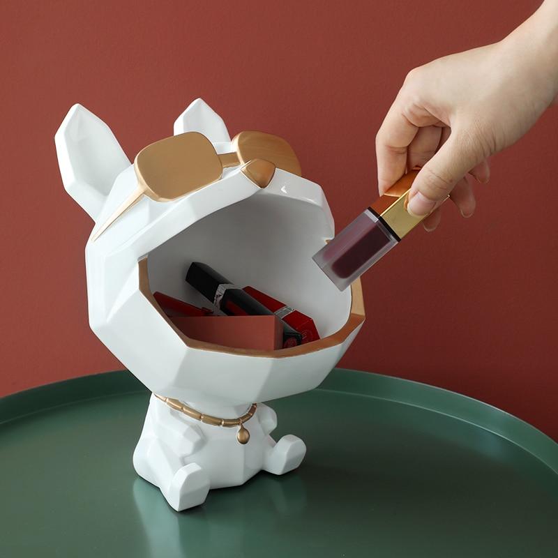 Vide poche chien origami décoration d'intérieur tendance