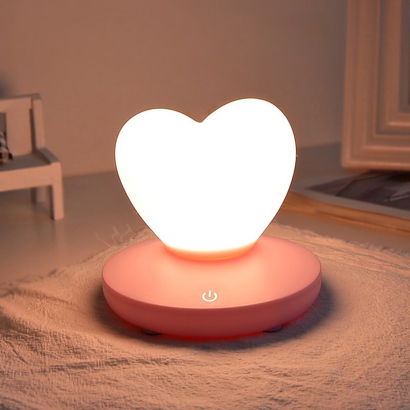 lampe tactile romantique allumer décoration intérieur