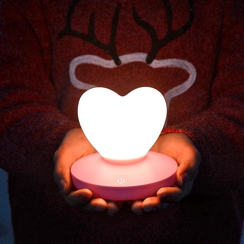 lampe tactile romantique allumer décoration saint valentin