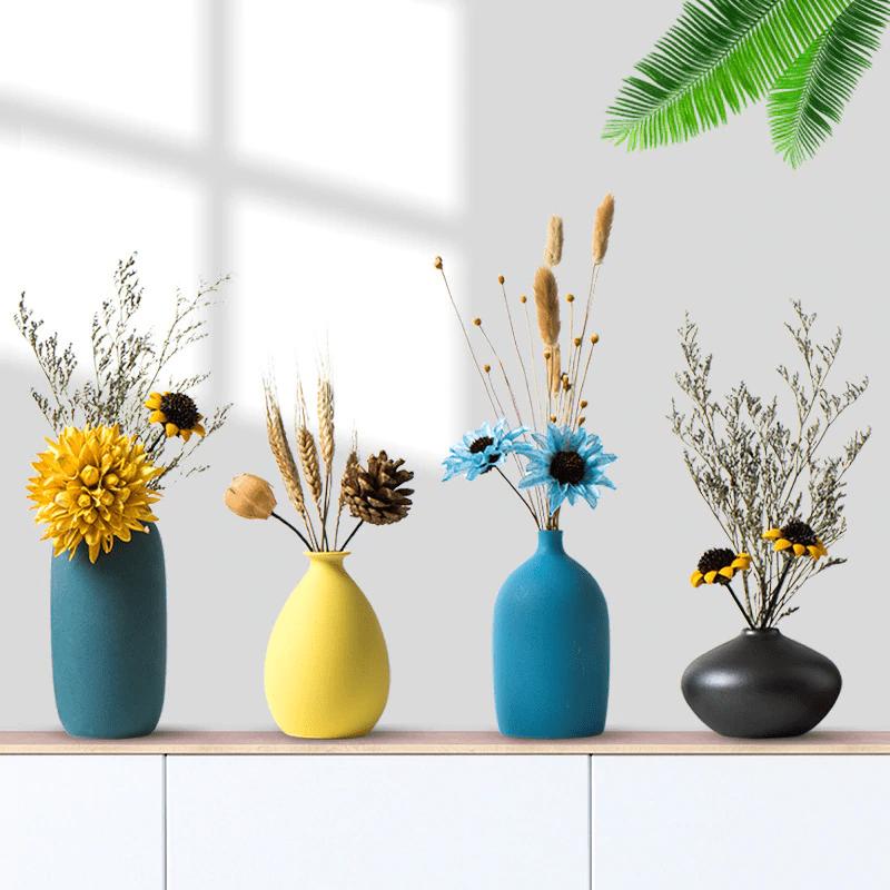 vase nordique moderne 4 couleurs décoration scandinave