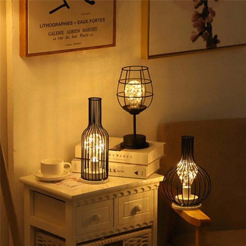 lampe décorative métal lampe à poser