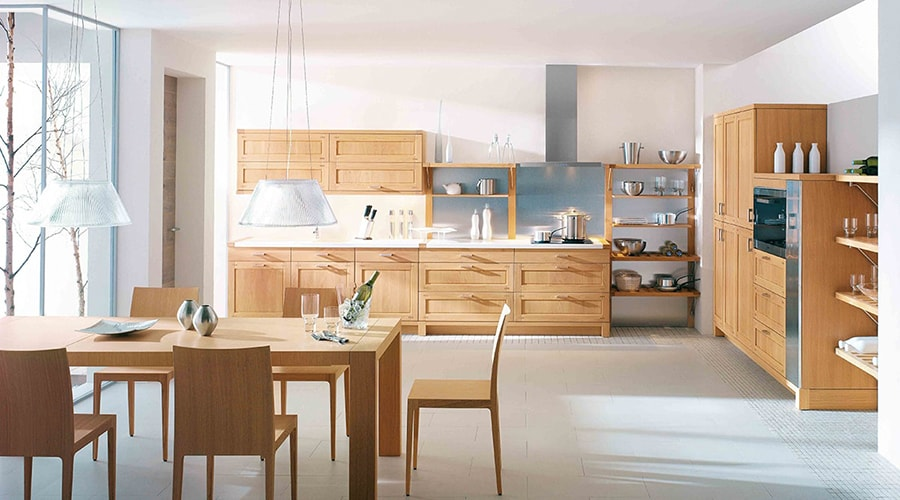bois massif décoration cuisine design