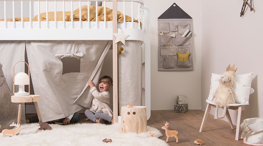 coin nuit aménagement chambre enfant