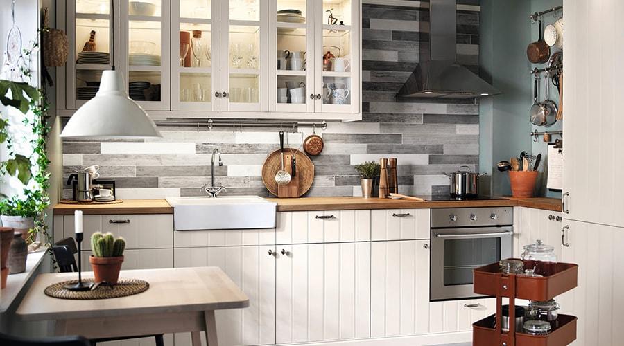 décoration transparente cuisine design