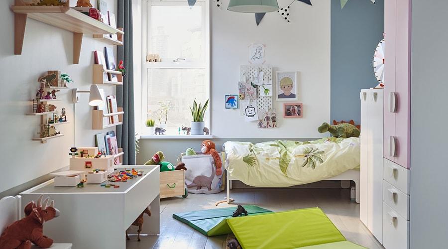 décoration murs aménagement chambre enfant